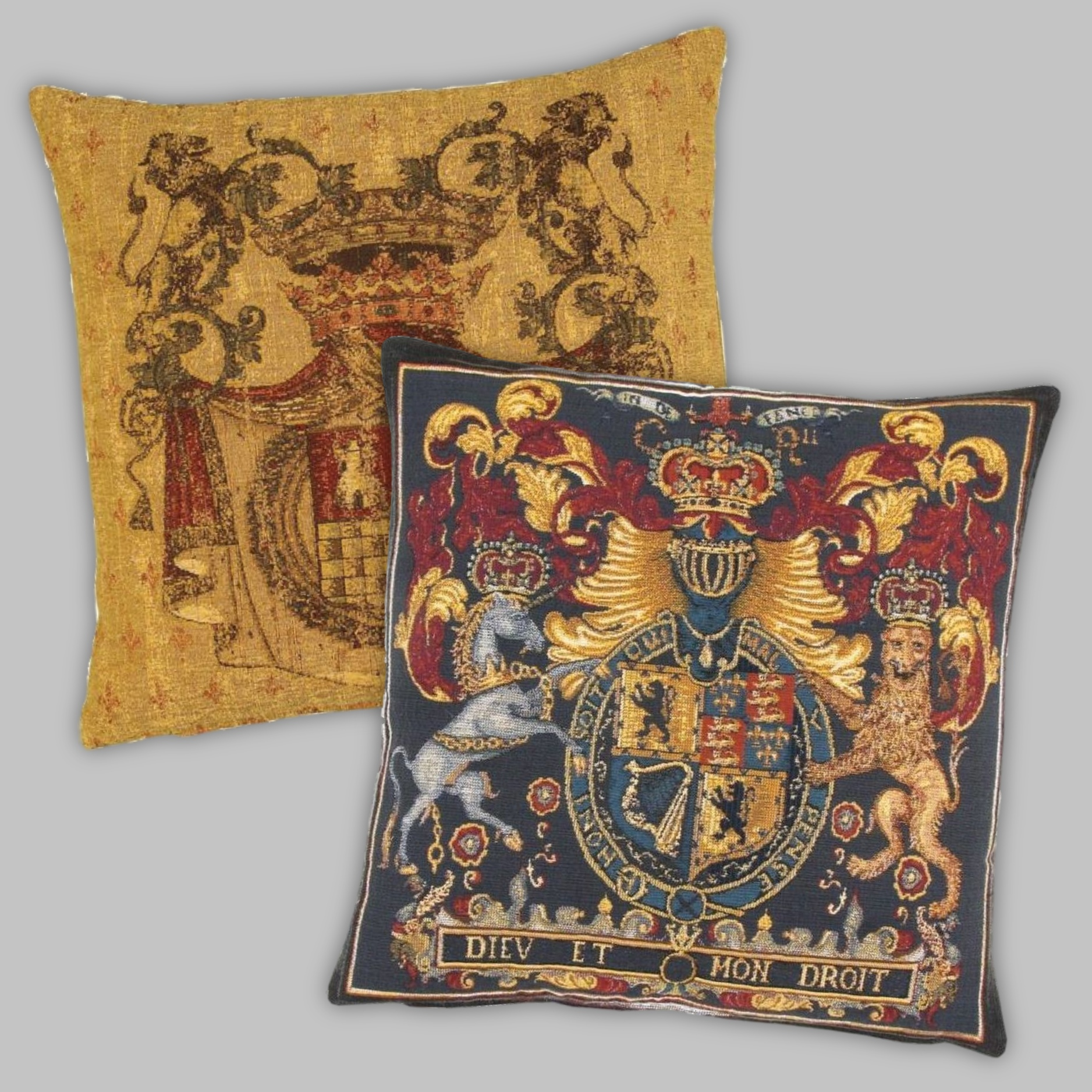 Armorial & Coat of Arms Tapestry Cushions