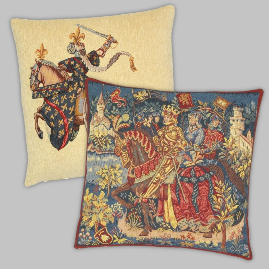 Knights & Legends Tapestry Cushions