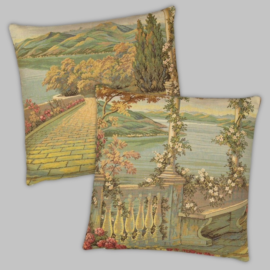 Landscape Tapestry Cushions