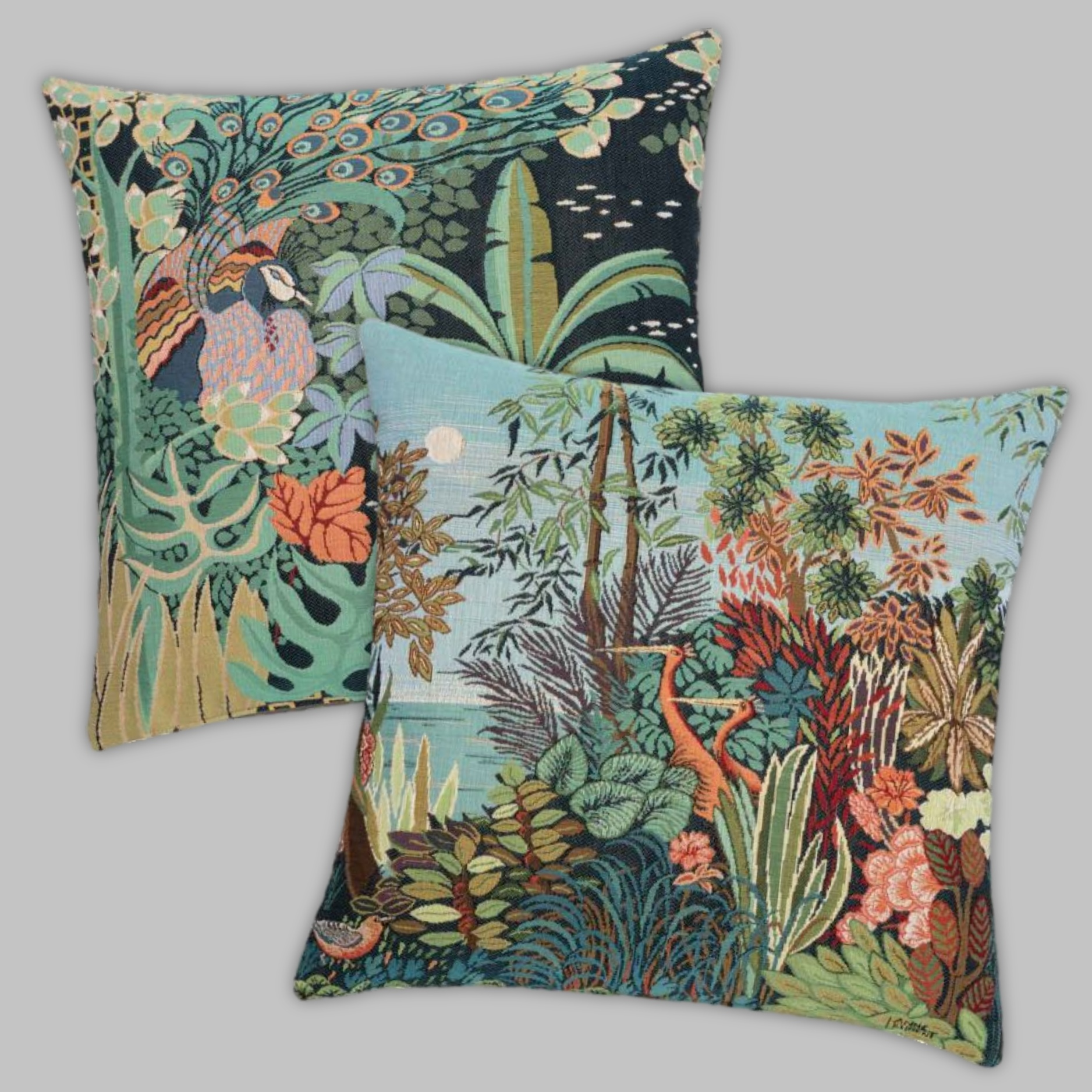 Tropical Tapestry Cushions