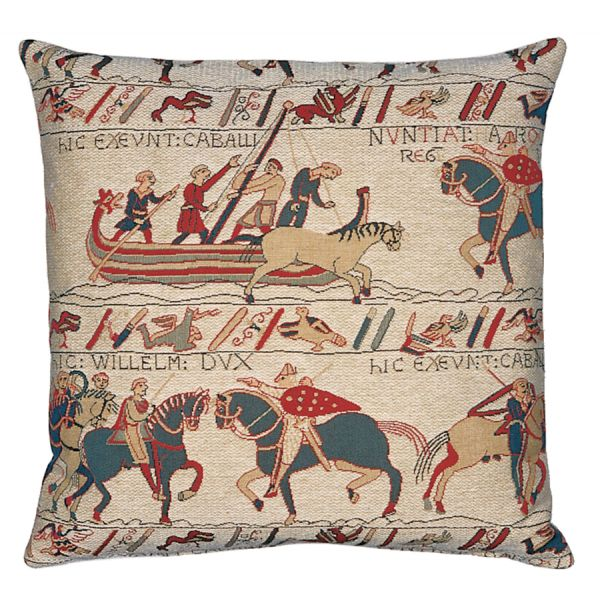 Bayeux Tapestry Tapestry Cushion - 46x46cm (18