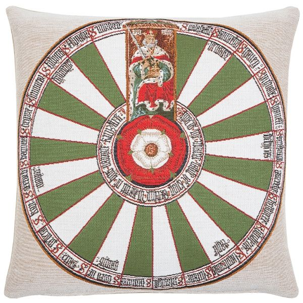 The Round Table (Winchester) Tapestry Cushion - 46x46cm (18