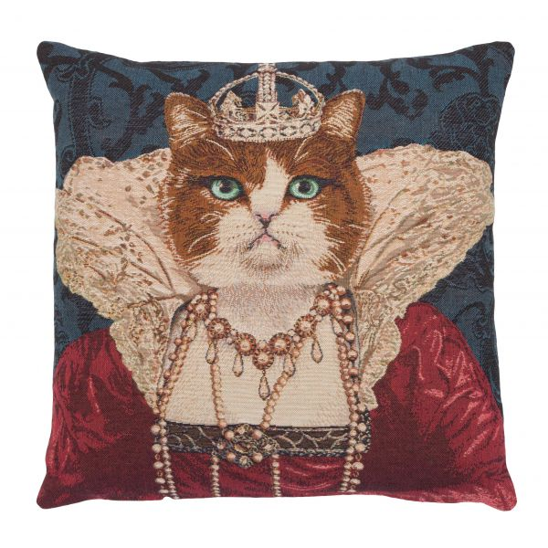 Beauty Queen Tapestry Cushion - 46x46cm (18