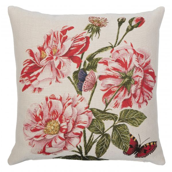 Roses of Orleans Tapestry Cushion - 46x46cm (18