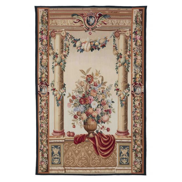 Chateau Columns Handwoven Tapestry - 168 x 110 cm (5'5