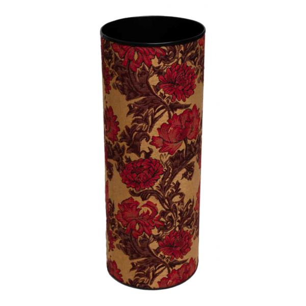 Chrysanthemums Gold Tapestry Umbrella Stand