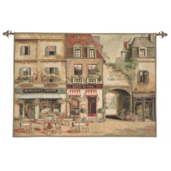 Paris - Vouvray Loom Woven Tapestry - 2 Sizes Available